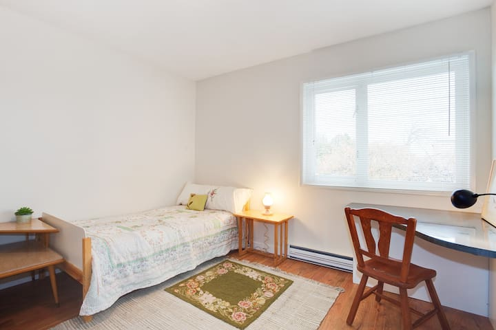 Bright bedroom near everything!