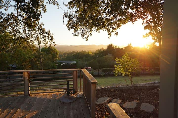 Beautiful Wine Country Views