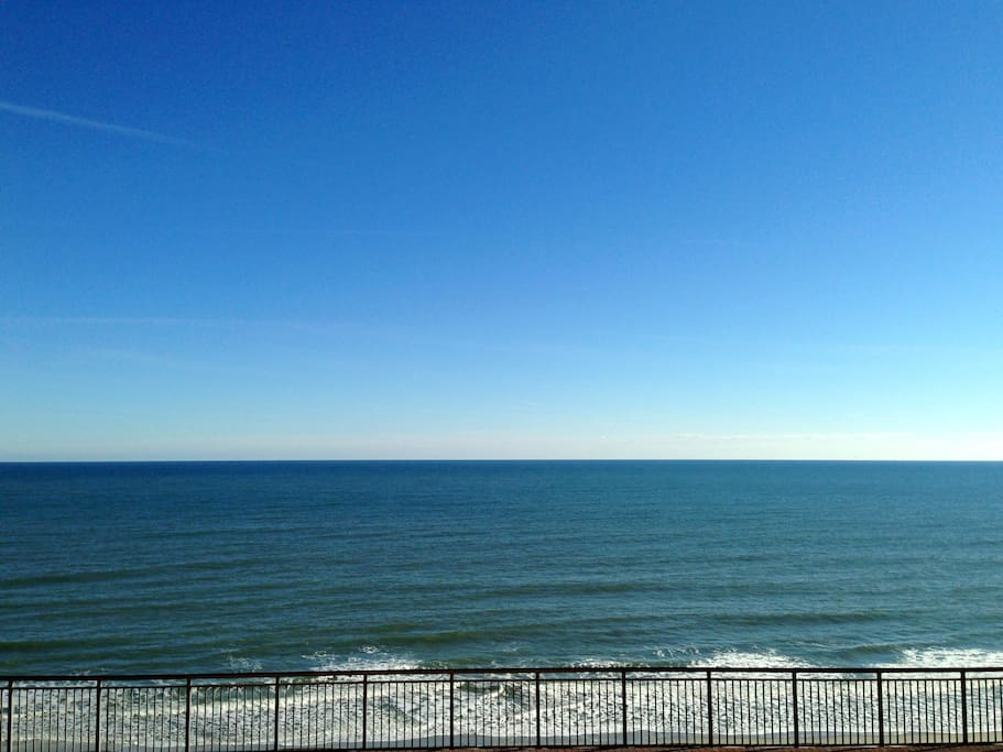 View from the 8th Floor Balcony