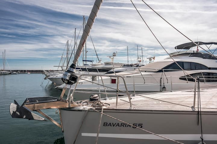 Luxury 55ft Yacht in Benalmadena