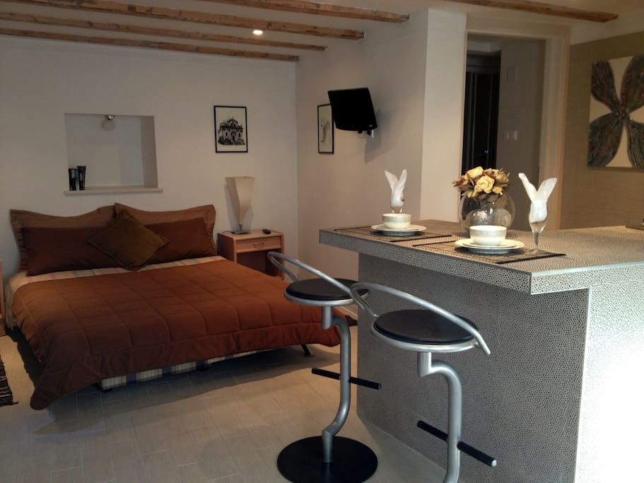 Studio #1 Our units are designed to give you all the comforts of home!