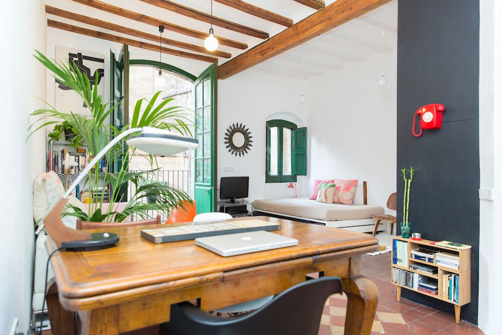 Awesome loft with good location in the heart of Barcelona