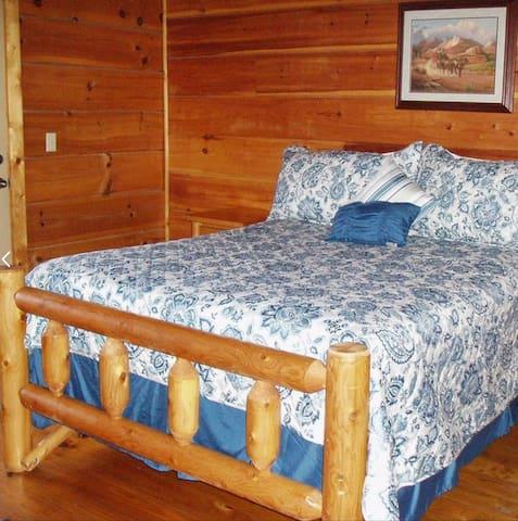 Super comfy log beds