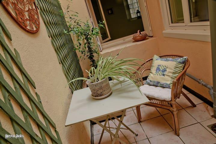 Coeur de Mirepoix : petit appartement calme