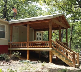 Secluded Texoma cabin in the woods! - Kingston