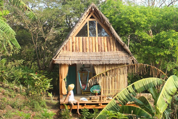 Pangolera  eco cabin in the mountains.