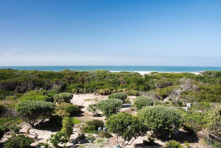 Villa on Myoli Beach, entire beach house!