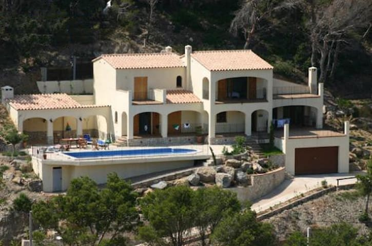 Luxurious Villa Sea view with pool - Begur - Huis