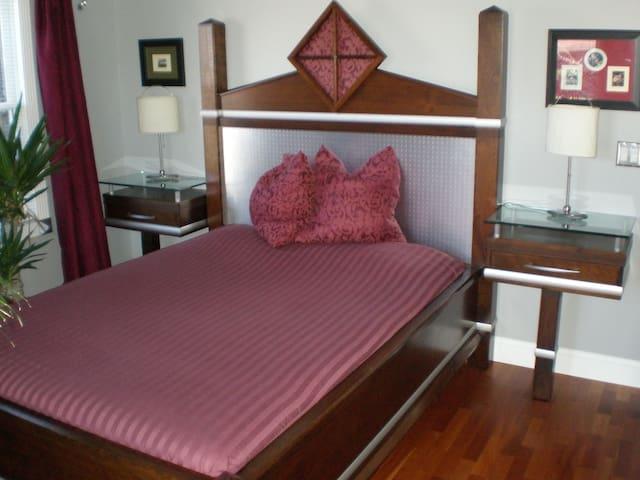 Modern,welcoming&comfortable room! - Greensboro