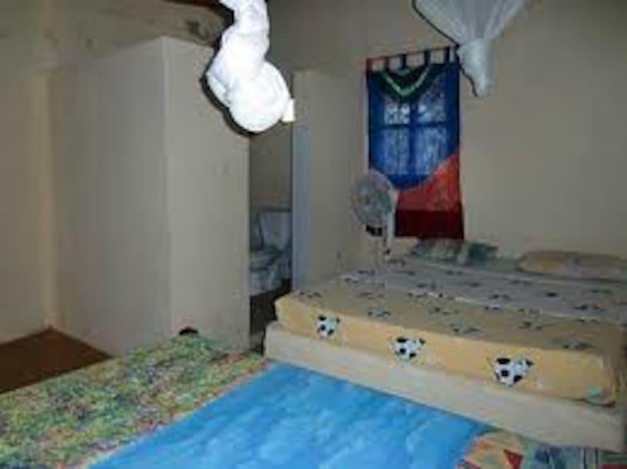 possibilité de deux lits