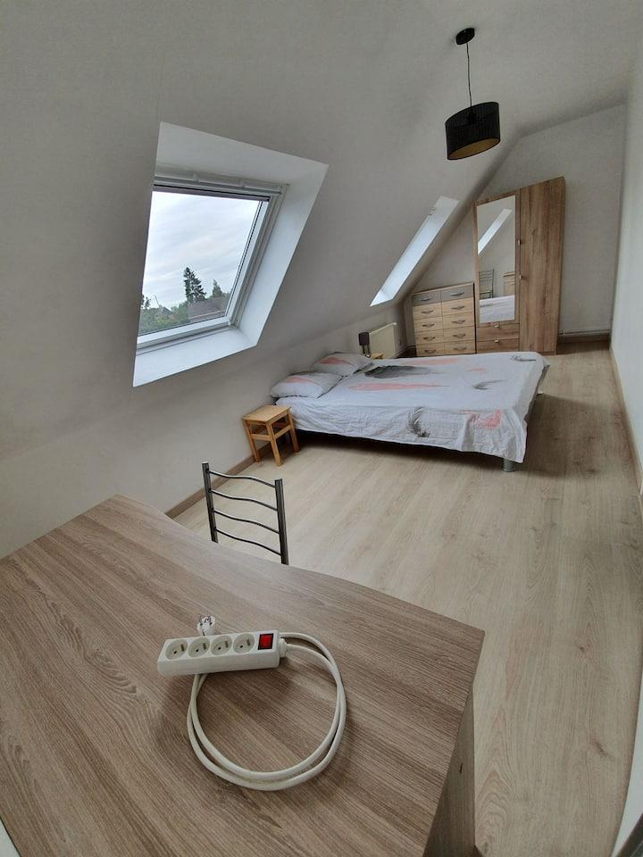 Une Chambre dans charmante maison pavillonnaire