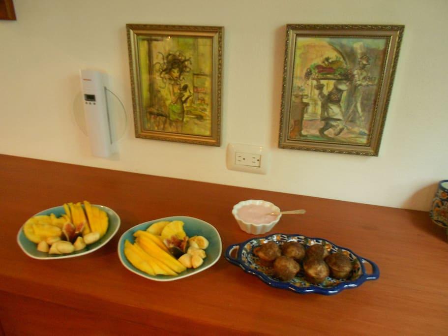 Breakfast at Casa Jacqueline