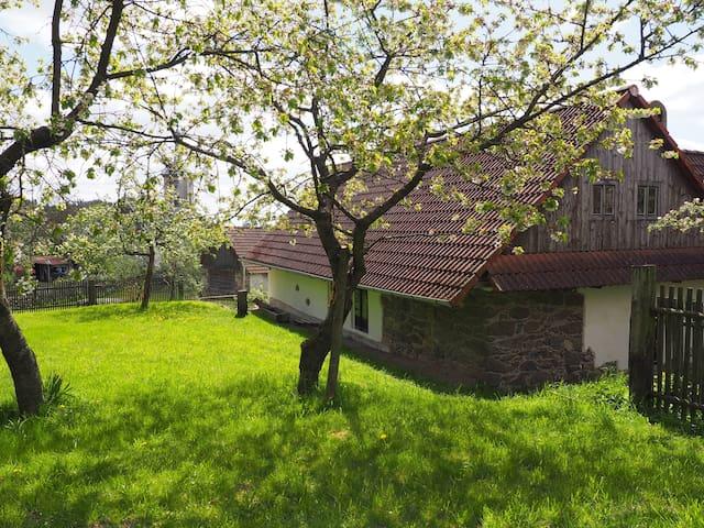 Pohádková chalupa na Vysočině - Horní Vilémovice - Huis