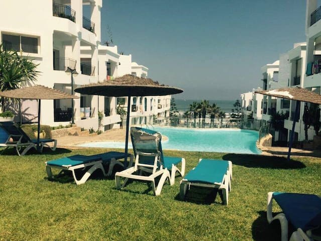 Appartement Dar Bouazza Beach House vue sur mer