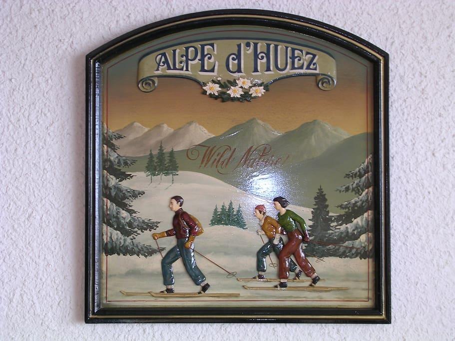 Nous sommes à l'Alpe d'Huez