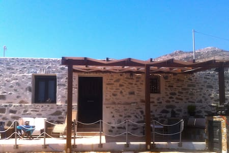 Stone House with Stunning Sea View - Syros