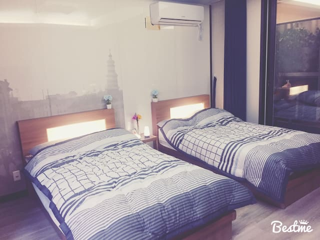 Newly Opened! ★2Beds Near Ewha Woman Univ station!