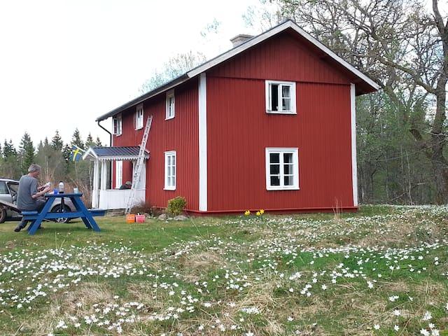 Schwedenhaus im Naturschutzgebiet!