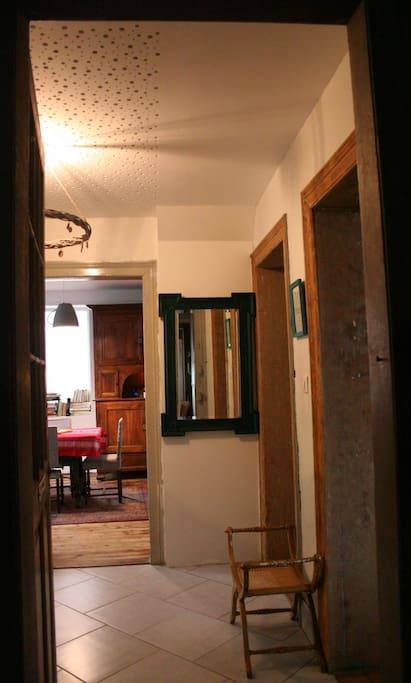 Entrée appartement - RDC
