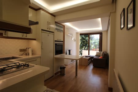 A new&cozy Taksim flat with private terrace - Şişli