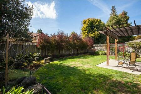 Huge Sunny Master Suite Palo Alto - Palo Alto - House
