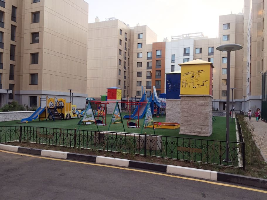 Outdoor public space