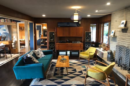 Riverfront Ranch - the mid century modern oasis