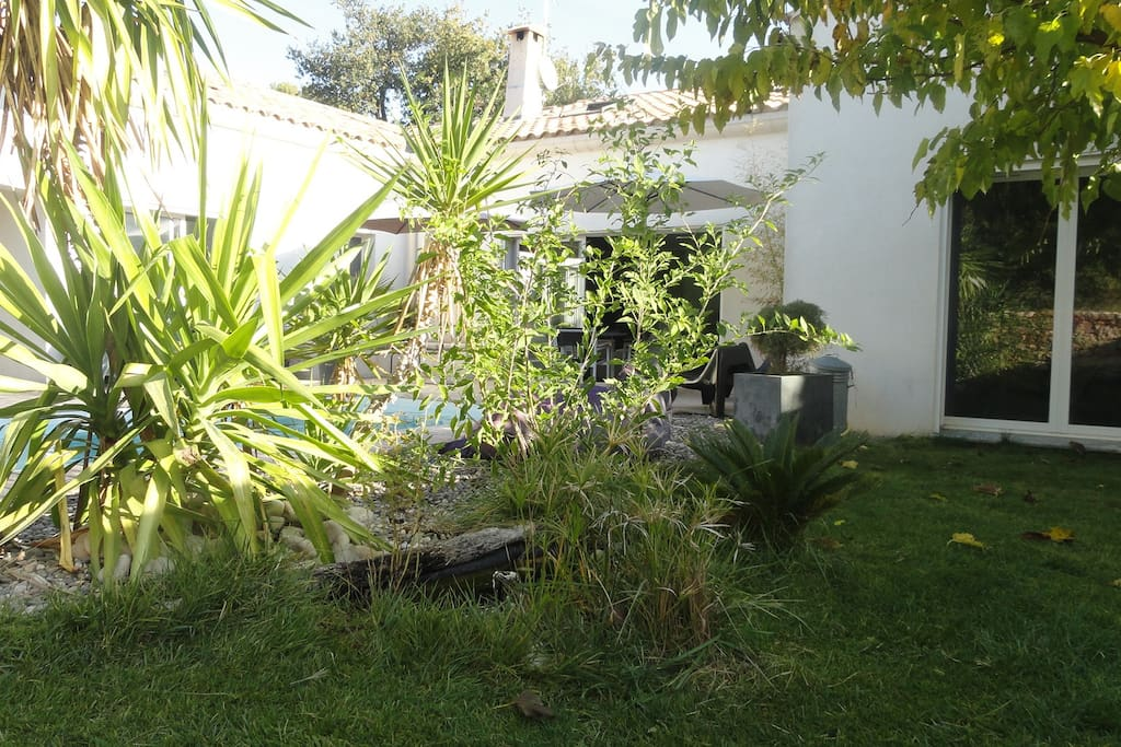 Sanary sur mer villa avec piscine villas for rent in for Jardin 600m2