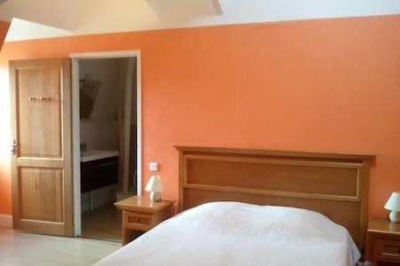 Belle Chambre double dans un hôtel à la campagne - Dompierre-sur-Charente - Bed & Breakfast