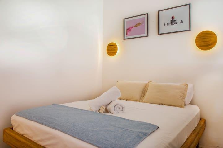 Private Room #7 @Siembra Boutique Hostel.