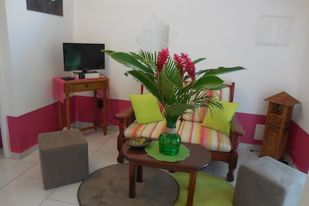 La Rosa Verde : Jolie petite maison, proche plage - Sainte-Anne
