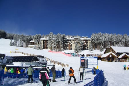 Excellent ski in/ski out location!