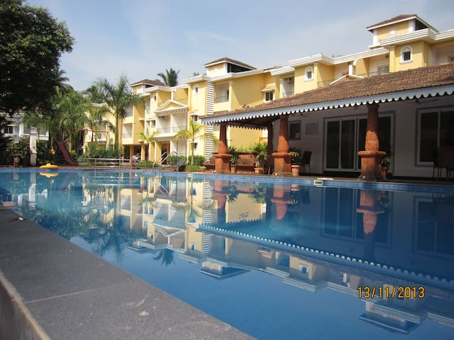 Vacation Homes Goa, 3 bhk V2, Colva - Colvá - Hus