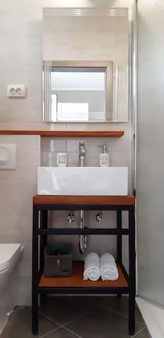 newly renovated private bathroom