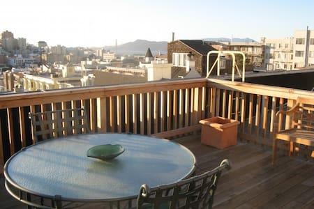 Nob Hill's Homiest Apartment - San Francisco