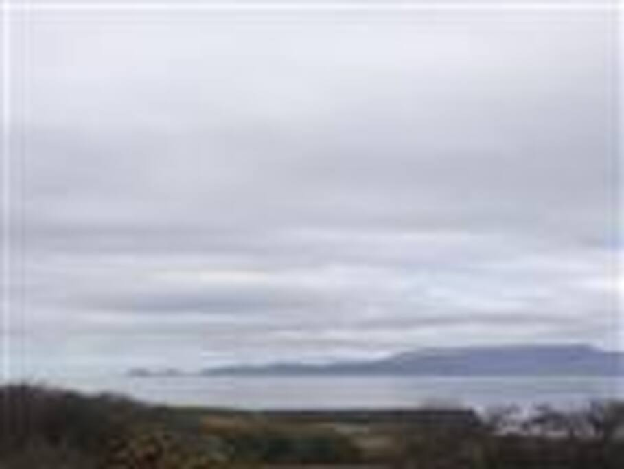 View of Clew Bay from the house.
