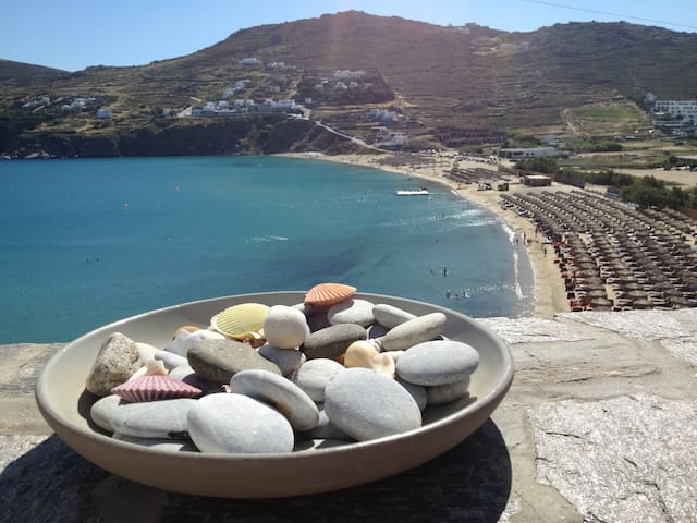 SEA VIEW  3 BEDROOM HOUSE UP TO 6!! - Mykonos - House