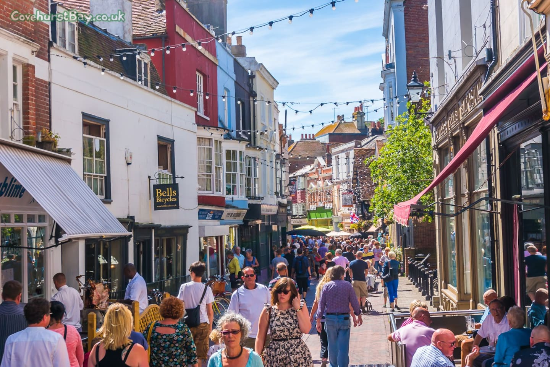 George street in Summer