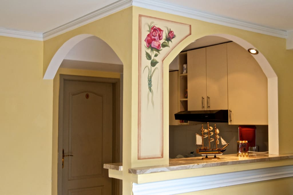 kitchen at Rosa
