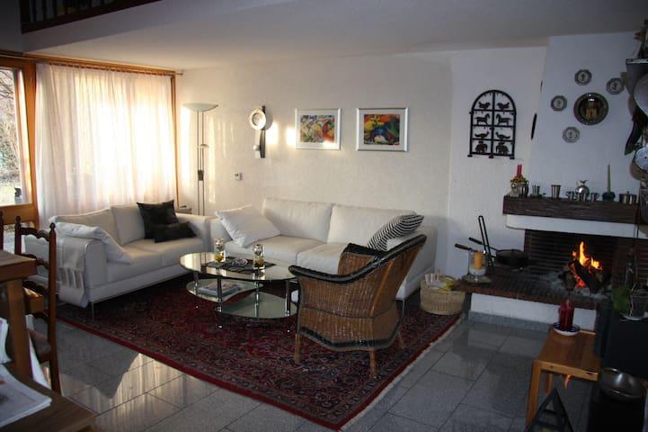Ferienhaus Genfersee zu vermieten - Port-Valais - Huis