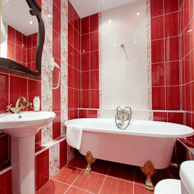 Ванная комната в Номере Классической русской музыки