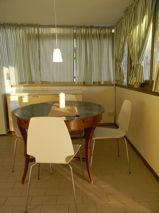 Cucina sala da pranzo
