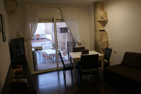 Apartament centre historic - Vilafranca del Penedès - Leilighet