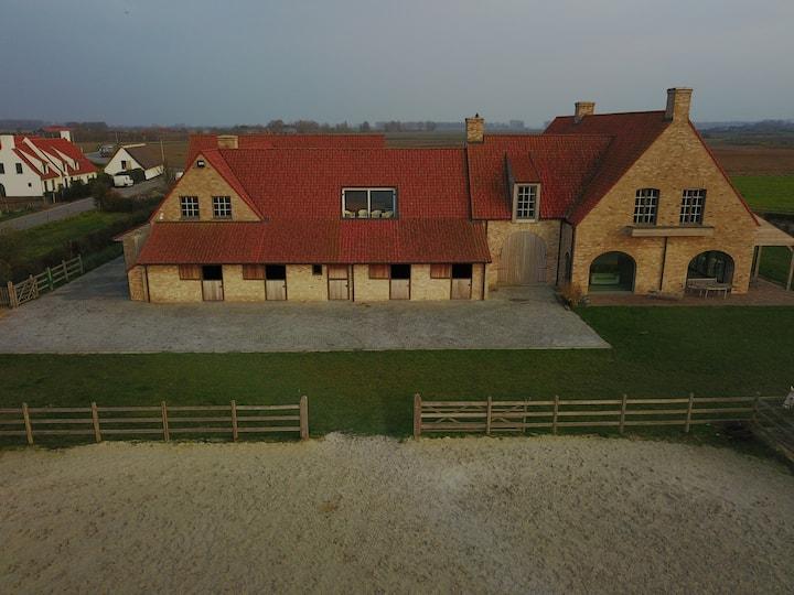 Huis 125m2 te Knokke in domein 5 Ha