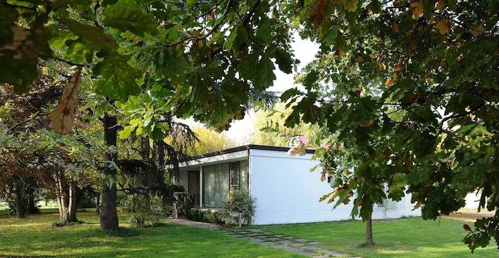 Casa Razionalista immersa nel verde a Faenza
