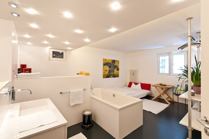 Highlight & exclusive near SBahn S8 - Unterföhring - Apartment