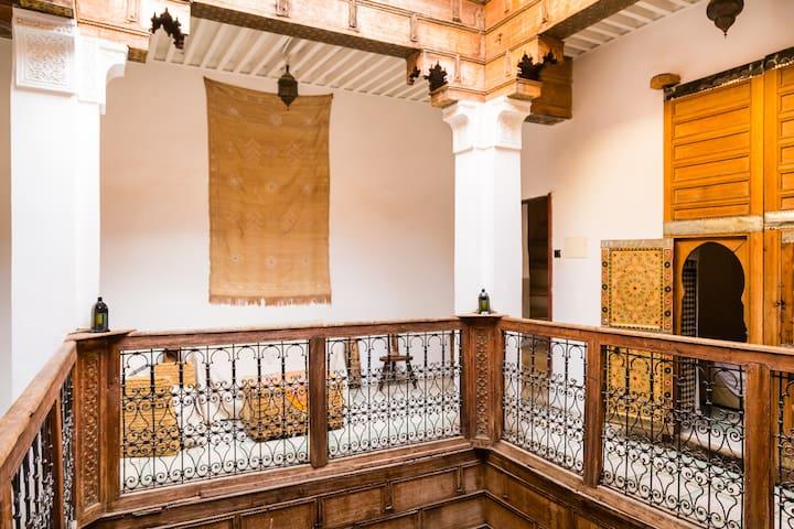 Medersa Room, Dar Rbab, Fes Medina