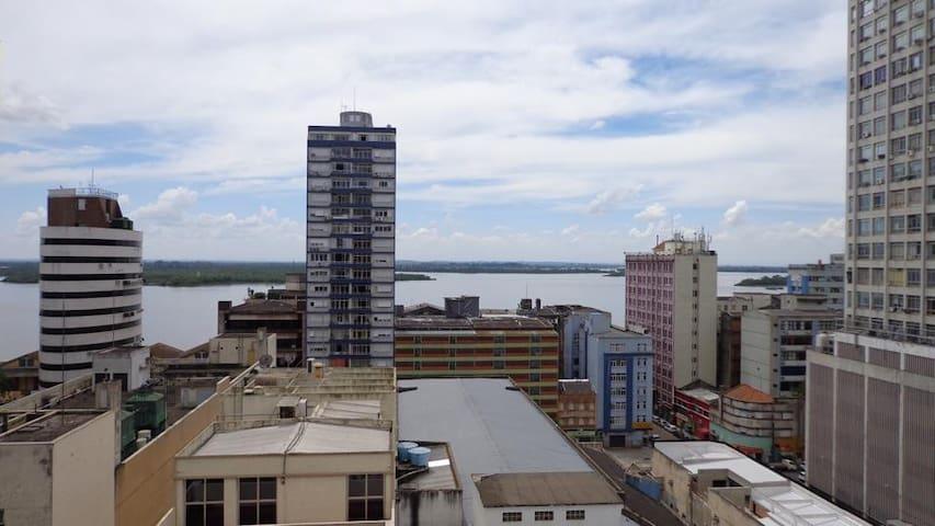 SUITE with wifi & visual to river! - Porto Alegre - Leilighet