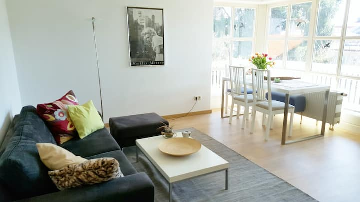 Chiemsee: modern 3-room apartment close to lake