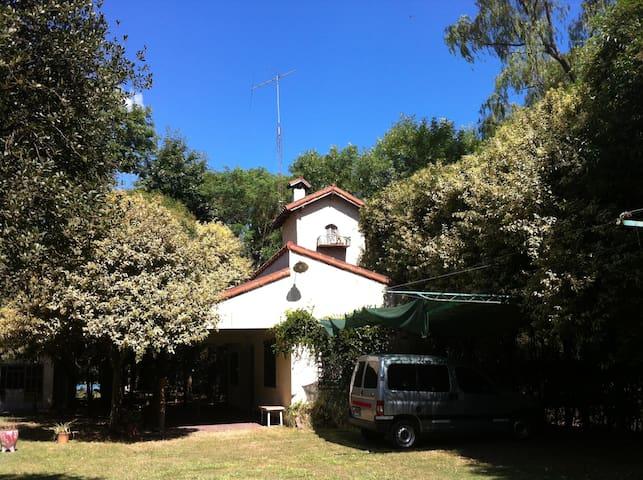 Casa quinta. Barrio Los Cedros. - San Nicolas de los Arroyos - Casa